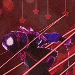 freetoedit milesmorales marvel spiderman spiderverse