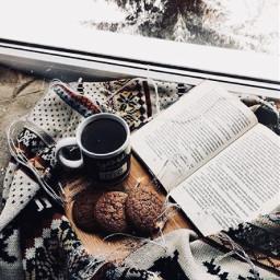 freetoedit cofee book aesthetic evergreentree