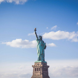 statue newyork usa background backgrounds freetoedit