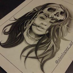 skull skulls skulltattoo skulltattoos tattoos dayofthedeadtattoo dayofthedead dayofthedeadart