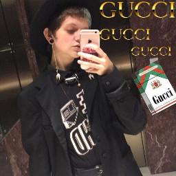 gothboy goth gothaesthetic gucci grungeboy