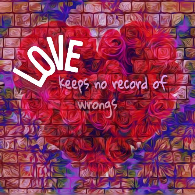 #freetoedit #love #corinthians #nogrudges #forgiveness #heart #roses #irclove #forgive #red #purple