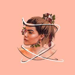 ecflowerhead flowerhead freetoedit remixit love