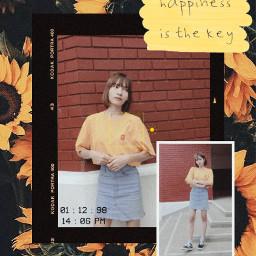 freetoedit yellow picsartreplay