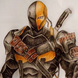 drawing deathstroke art