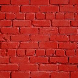 freetoedit ladrillos pared fondo rojo