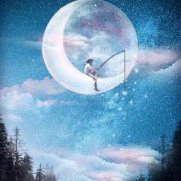 freetoedit fantasy surreal moonart