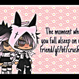 moment fallasleep friend gf bf