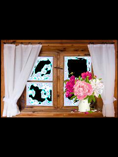 bouquet flowervase flowerpot yard window stickersfreetoedit freetoedit