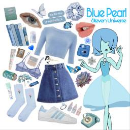 freetoedit bluepearl blue pearl stevenuniverse