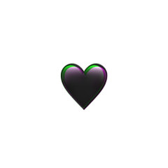 black heart followme deutsch emoji freetoedit
