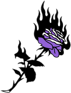 love rose dark purple violet freetoedit