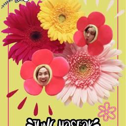 freetoedit flowers junghoseok hobi jhope