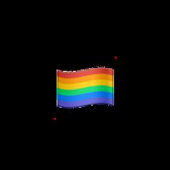 pride stitcker png rainbow red freetoedit