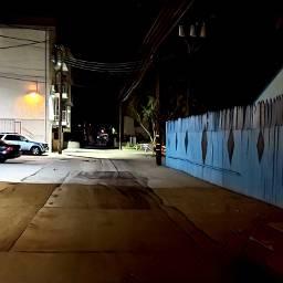 night nightphotography alley empty