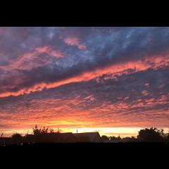 фон небо закат freetoedit