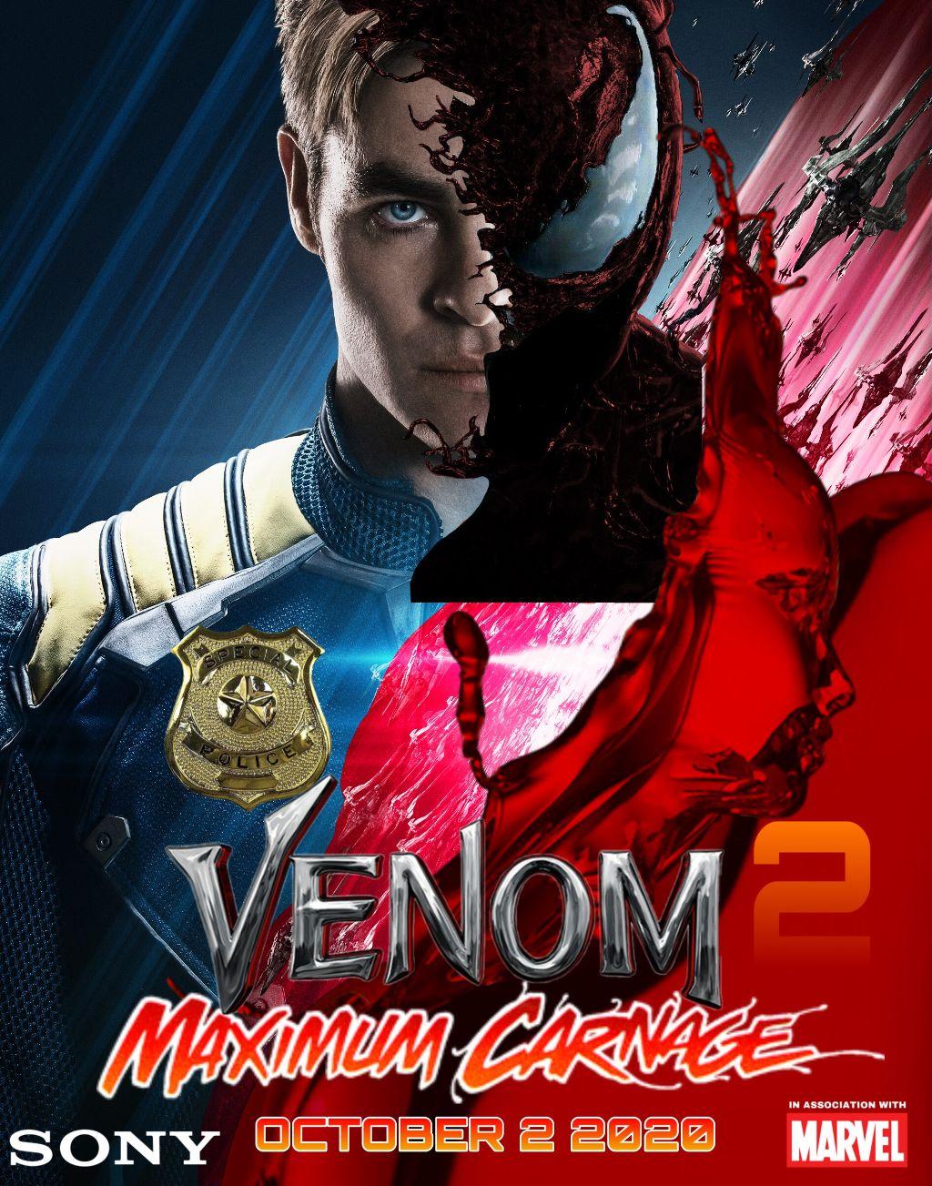 Toxin Venom Carnage Venom 2 Maximum Carnage Movie 2020