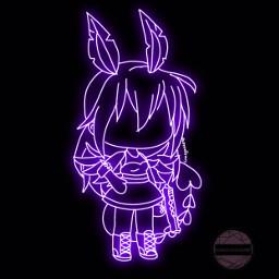 gacha gachalife glowingeffect glowing
