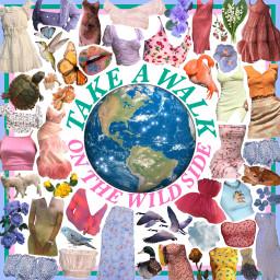 freetoedit moodboard nature world planet