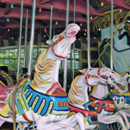 centralpark carousel carouselhorse colorful