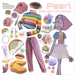 freetoedit pearl rainbow stevenuniverse su
