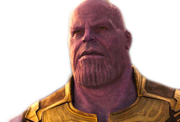 thanos avengers infinity war endgame freetoedit