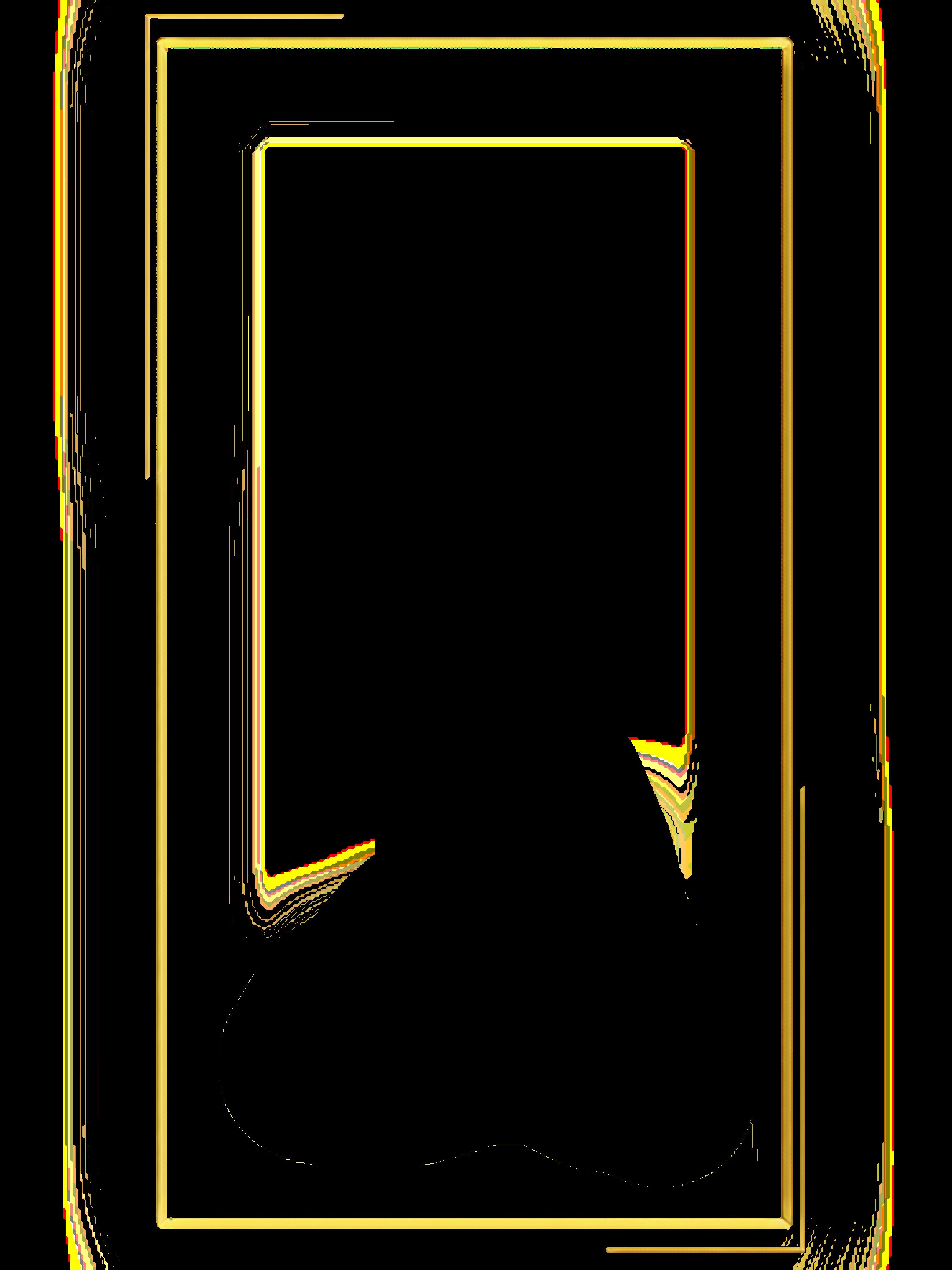 Gold اطار ذهبي فلتر فلاتر 5