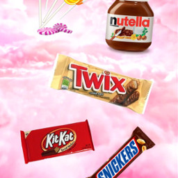 nutella twix kitkat snickers sucette