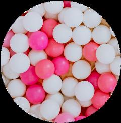 balloon balloons ball balls pink freetoedit