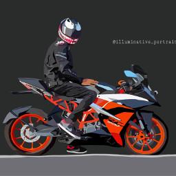 digitalart adobe love rider ktm