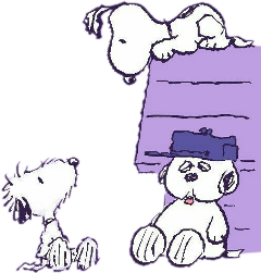 cartoon snoopy peanuts viola lilla freetoedit