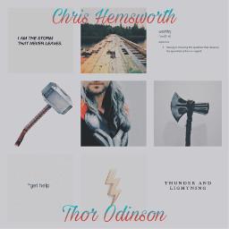 thorodinson chrishemsworth godofthunder avengers avengersageofultron