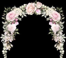 wreath wedding tower tumblraesthetic roses freetoedit