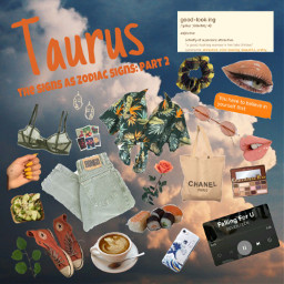 freetoedit taurus plantmom aesthetic zodiacsigns