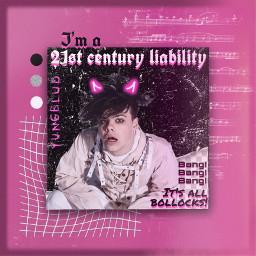 yungblud dominicharrison pink pinkaesthetic yungbludedit freetoedit