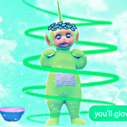 green dipsy teletubbies