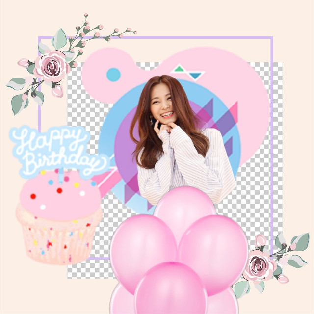 Happy birthday Tzuyu #happybirthday #stickers #tzuyu #freetoedit