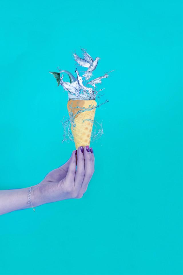 #freetoedit #mermaid #icecream