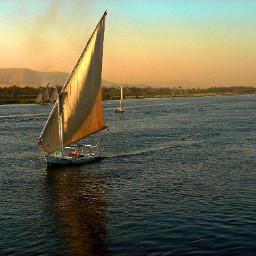 freetoedit sailboat river sunset myphotography