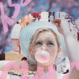 summeroutline collage masks weirdmasks typography freetoedit