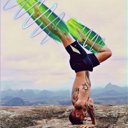 srcgreenbrushstroke greenbrushstroke freetoedit yoga nature