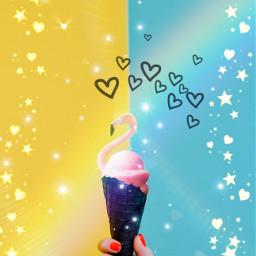 ecicecream icecream freetoedit cone