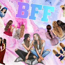 bff besties freetoedit