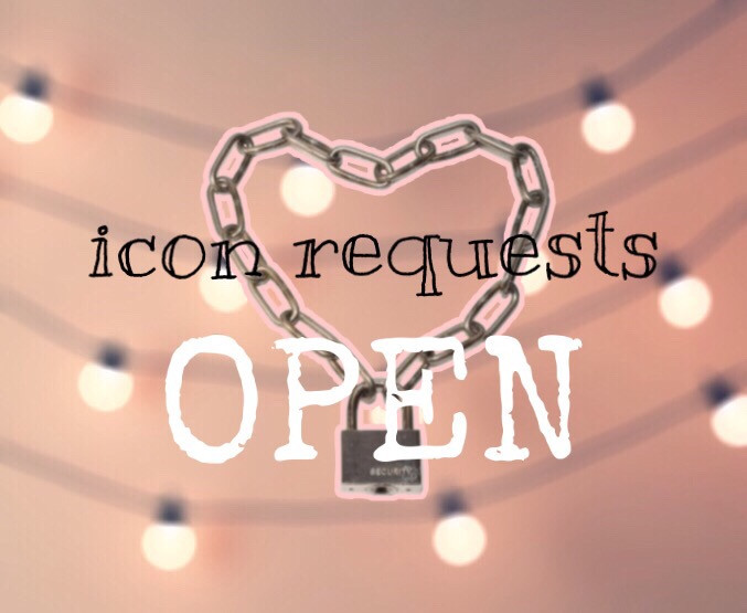 Icon requests are OPEN 🖤  Ask in the comments or dm me 💜     💛💛💛💛💛    #freetoedit #iconrequests #requests #icons #open #customicons