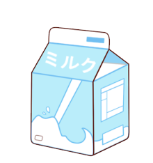 aesthetic milk milkpack blue freetoedit