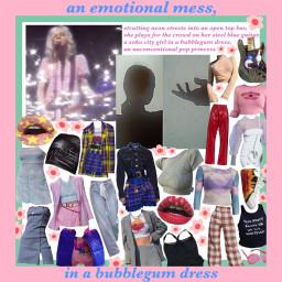 moodboard pinkaesthetic edgy pop punk