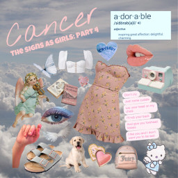 freetoedit zodiacsigns cancer soft aesthetic