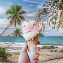 freetoedit icecream icecreamchallenge remix tropical ecicecream