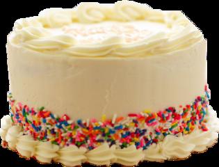 yummy cake sprinkles vanilla frosting freetoedit