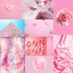 pink pinkaesthetic collage freetoedit